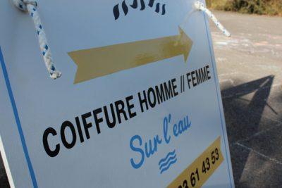 Stop-trottoir slm decors salon de coiffure